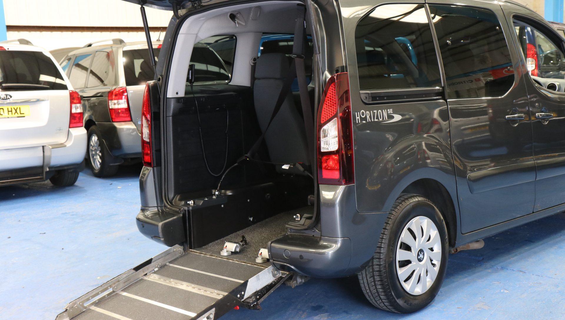 partner petrol wheelchair vehicle sf14