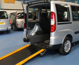 Doblo Wheelchair accessible car nk11