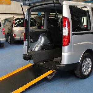 Doblo Wheelchair accessible car nk11