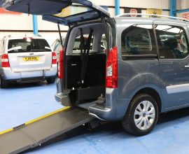 Berlingo Wheelchair adapted cars wj12nz