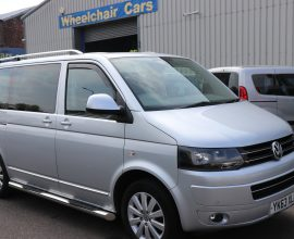 Vw Caravelle Auto Wheelchair accessible