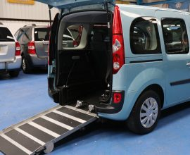 Kangoo Auto wheelchair adapted yj12kwb