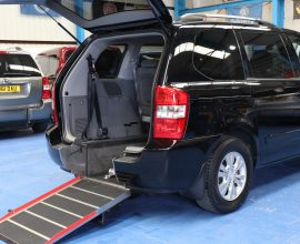 Kia Sedona Wheelchair cars yj60klp (1)
