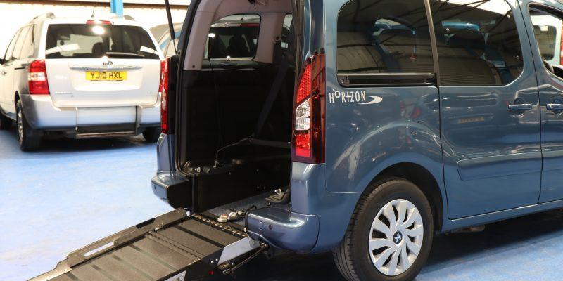 Peugeot petrol wheelchair cars sf14dxg