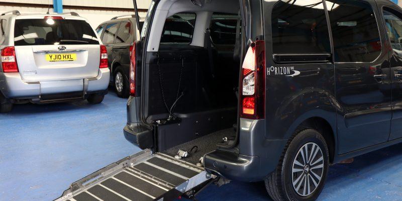 Partner petrol wheelchair car sf64gvv