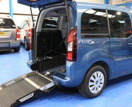 Partner petrol wheelchair cars sf15flw
