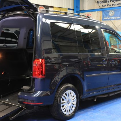 vw caddy wheelchair upfront dp66