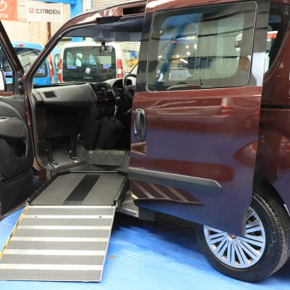 Doblo Auto Wheelchair upfront