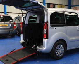Partner petrol wheelchair cars sd17oes