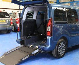 Partner petrol wheelchair car sf65dda