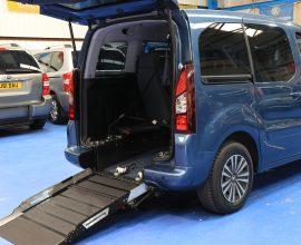 Peugeot Petrol wheelchair vehicle sf14dko