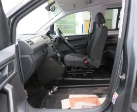 vw caddy wheelchair upfront dn67