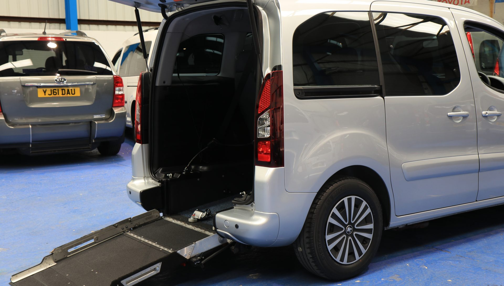 Partner petrol wheelchair car sf65gnk