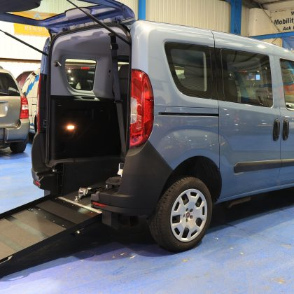 Doblo Wheelchair Accessible 2018