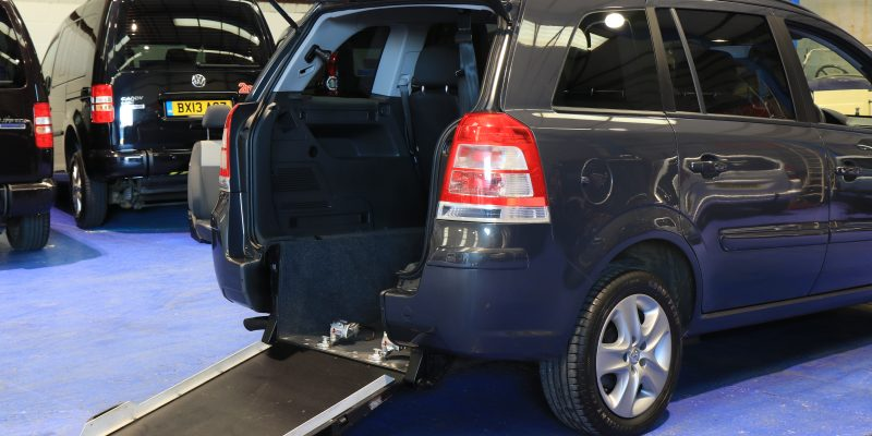 Vauxhall zafira Wheelchair car nv63