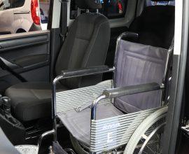 vw caddy wheelchair upfront DV66