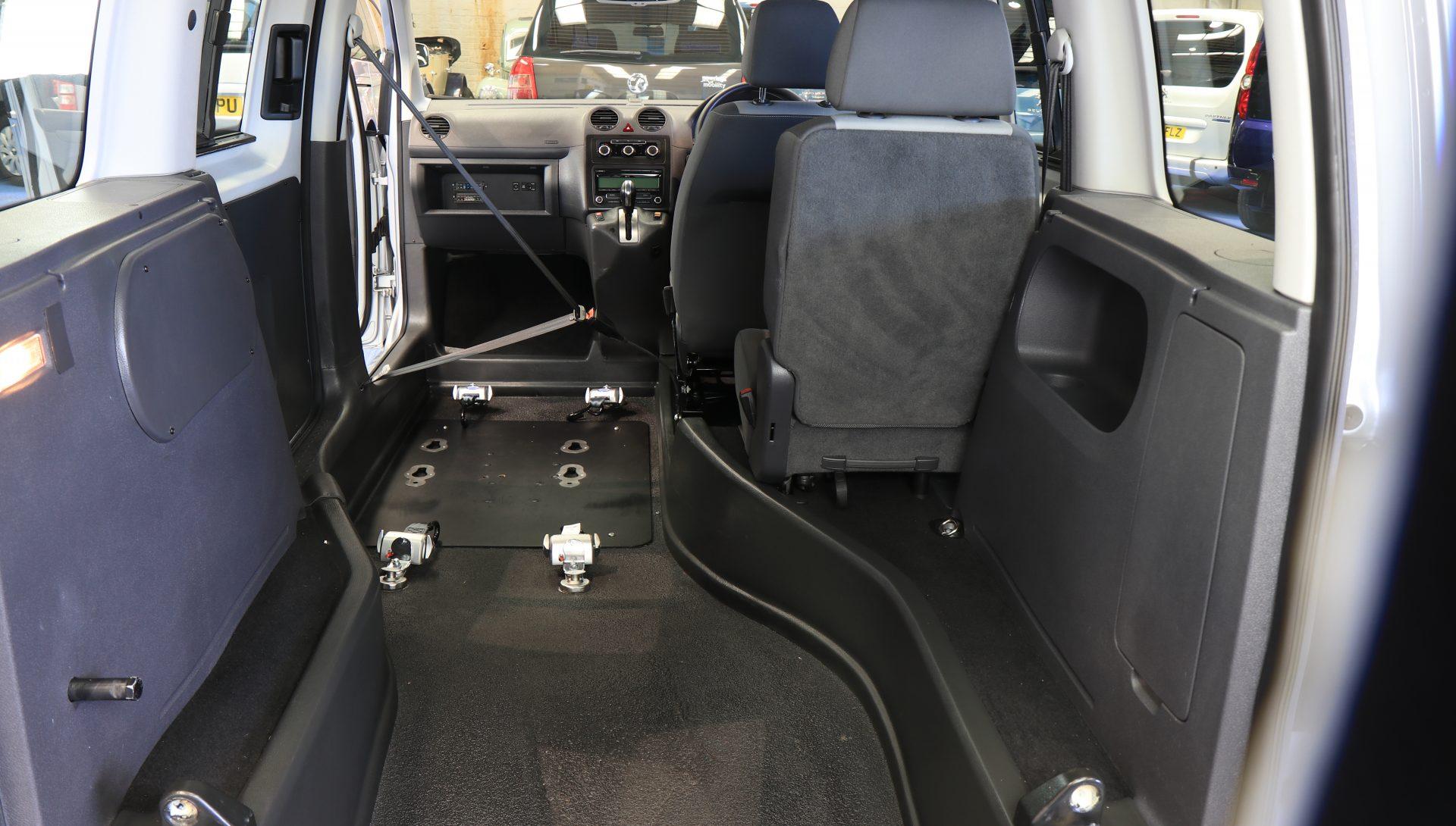 Caddy Wheelchair upfront bv61 vxf