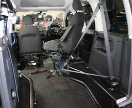 Caddy disabled Transfer to drive car dv19
