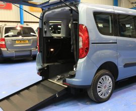 Doblo Wheelchair Accessible winch