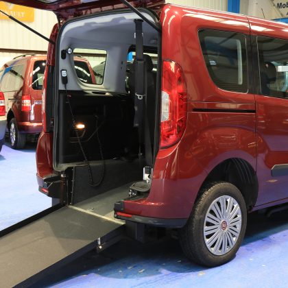Doblo Wheelchair Accessible 4 seat