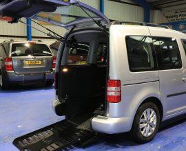 Caddy Auto wheelchair upfront bv61