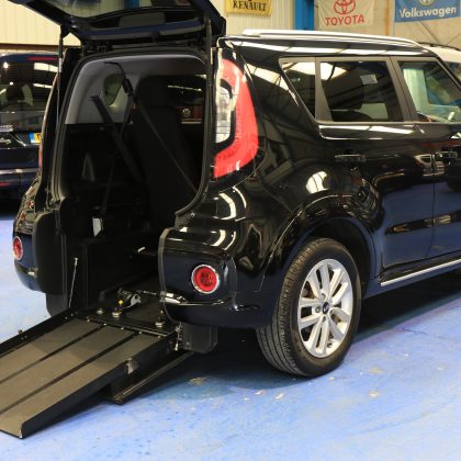 Kia Soul petrol wheelchair access 2017