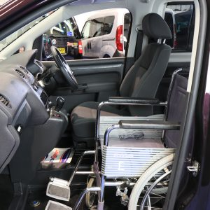 Vw caddy passenger upfront next to driver