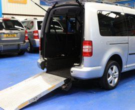 Caddy nk15 long Wheelchair space