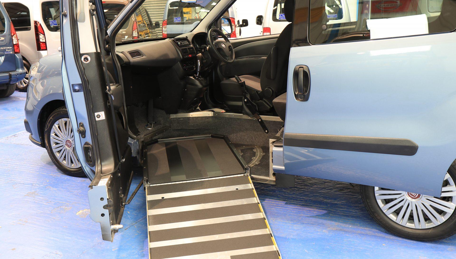 Doblo Auto Wheelchair upfront