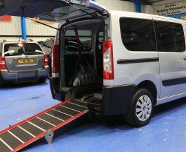 Peugeot Expert 6 seat plus wheelchair