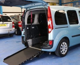 Kangoo Auto wheelchair adapted gx12eol